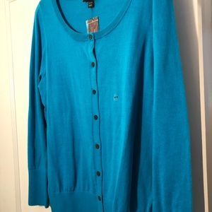 Lane Bryant Blue Cardigan 18/20 NWT